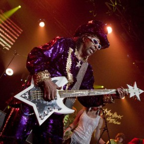 Bootsy Collins live at Pompéia